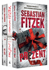 Prezent / Pacjent / Lot 7A Pakiet - Sebastian Fitzek | mała okładka