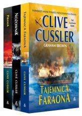 Tajemnica faraona / Nożownik / Pirania Pakiet - Clive Cussler | mała okładka