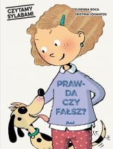 Czytamy sylabami Prawda czy fałsz - Elisenda Roca | mała okładka