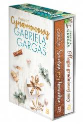 Pakiet cynamonowy Szczęście przy kominku/ Magia grudniowej nocy - Gabriela Gargaś | mała okładka