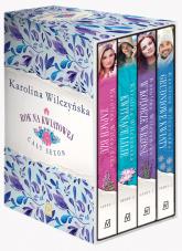 Pakiet Rok na Kwiatowej: Zapach bzu / Kwitnące lilie / W kolorze wrzosu / Grudniowe kwiaty - Karolina Wilczyńska | mała okładka