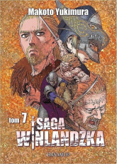 Saga winlandzka Tom 7 - Makoto Yukimura   mała okładka