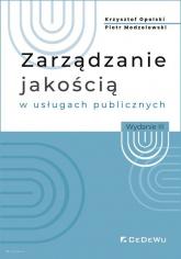 Zarządzanie jakością w usługach publicznych - Opolski Krzysztof, Modzelewski Piotr | mała okładka