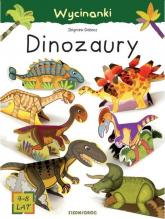 Wycinanki Dinozaury - Zbigniew Dobosz | mała okładka