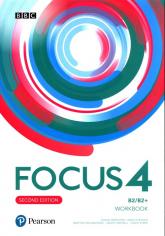 Focus Second Edition 4 Workbook + kod MyEnglishLab Liceum technikum Poziom B2/B2+ - Brayshaw Daniel, Russell Dean | mała okładka