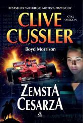Zemsta cesarza Wielkie Litery - Cussler Clive, Morris Boyd | mała okładka