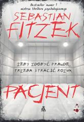 Pacjent Wielkie Litery - Sebastian Fitzek | mała okładka