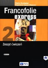 Francofolie express 2 Zeszyt ćwiczeń. - Boutegege Regine, Supryn-Klepcarz Magdalena | mała okładka