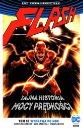Flash Tom 10 Wyprawa po moc - Joshua Williamson   mała okładka