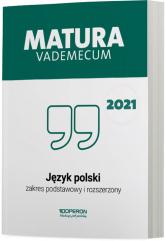 Język polski Matura 2021 Vademecum ZPR - Donata Dominik-Stawicka   mała okładka