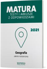 Geografia Matura 2021 Testy i arkusze z odpowiedziami Zakres rozszerzony - Dorota Plandowska, Jolanta Siembida, Zbigniew Zaniewicz | mała okładka