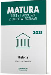 Historia Matura 2021 Testy i arkusze z odpoiwedziami Zakres rozszerzony - Tulin Cezar, Kubicka Beata, Smuda Marek | mała okładka