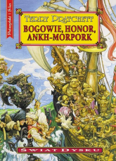 Bogowie, honor, Ankh-Morpork - Terry Pratchett | mała okładka