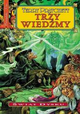 Trzy wiedźmy - Terry Pratchett | mała okładka