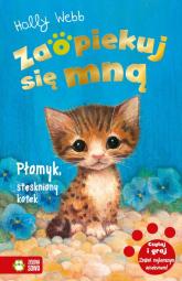 Zaopiekuj się mną Płomyk stęskniony kotek - Holly Webb | mała okładka