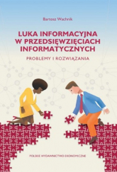 Luka informacyjna w przedsięwzięciach informatycznych. Problemy i rozwiązania - Bartosz Wachnik   mała okładka