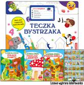 Teczka bystrzaka Zestaw Łamigłówek - zbiorowa praca | mała okładka