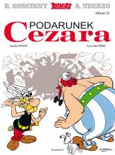 Asteriks Podarunek Cezara 21 - Rene Goscinny | mała okładka
