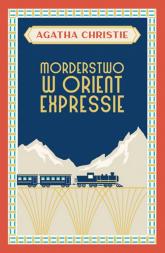 Morderstwo w Orient Expressie - Agatha Christie   mała okładka