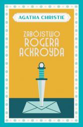 Zabójstwo Rogera Ackroyda - Agatha Christie   mała okładka