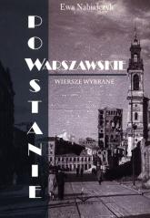 Powstanie Warszawskie. Wiersze wybrane - Ewa Nabiałczyk | mała okładka