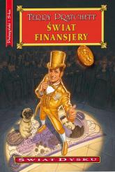 Świat finansjery - Terry Pratchett | mała okładka
