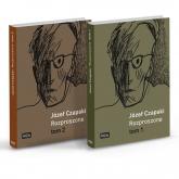 Rozproszone Teksty z lat 1923-1988 Tom 1-2 - Józef Czapski | mała okładka