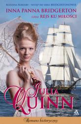 Inna panna Bridgerton czyli rejs ku miłości - Julia Quinn   mała okładka