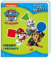 Psi Patrol Wyzwania dla malucha Figury i kształty. - zbiorowe opracowanie | mała okładka