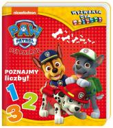 Psi Patrol Wyzwania dla malucha Poznajmy liczby! - zbiorowe opracowanie | mała okładka