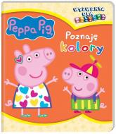 Peppa Pig Wyzwania dla malucha Poznaję kolory - zbiorowe opracowanie | mała okładka