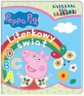 Peppa Pig Wyzwania dla malucha Literkowy świat - zbiorowe opracowanie | mała okładka