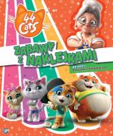 44 cats Zabawy z naklejkami 44 koty Puszyste i fantastyczne - zbiorowe opracowanie | mała okładka