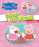 Peppa Pig. Zabawy z naklejkami. Pyszności Peppy. - zbiorowe opracowanie | mała okładka