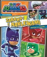 PJ Masks Zabawy z naklejkami Gotowi na zagadki - zbiorowe opracowanie | mała okładka