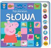 Peppa Pig Moje pierwsze Słowa - zbiorowe opracowanie | mała okładka