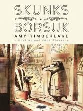Skunks i Borsuk - Amy Timberlake   mała okładka
