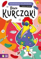 Zwariowane kolorowanki Disco kurczaki -  | mała okładka