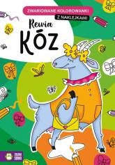 Zwariowane kolorowanki Rewia kóz -  | mała okładka