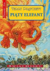 Piąty elefant - Terry Pratchett | mała okładka