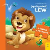 Książka z puzzlami Jego Wysokość lew - Urszula Kozłowska | mała okładka