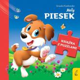 Książka z puzzlami Mały piesek - Urszula Kozłowska | mała okładka