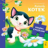 Książka z puzzlami Nieśmiały kotek - Urszula Kozłowska | mała okładka