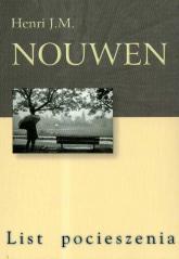 List pocieszenia - Nouwen Henri J. M.   mała okładka
