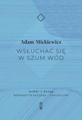 Wsłuchać się w szum wód - Adam Mickiewicz | mała okładka