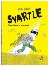 Svartle Superbohater w czerni - Hakon Ovreas   mała okładka