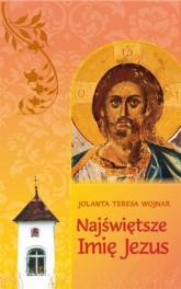 Najświętsze imię Jezus Teksty do rozważania wezwań Litanii do Najświętszego Imienia Jezus -  | mała okładka