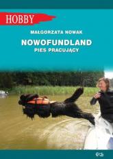 Nowofundlad pies pracujący - Małgorzata Nowak | mała okładka