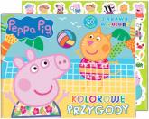 Peppa Pig Zabawa w kolory Kolorowe przygody - zbiorowe opracowanie | mała okładka