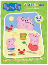 Peppa Pig Zadania dla przedszkolaka 4-5 lat Nauka z Peppą to przyjemność! - zbiorowe opracowanie | mała okładka